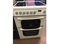 60CM WHITE ELECTRIC COOKER