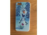 iPhone 5s Disney case with x3 screen protectors