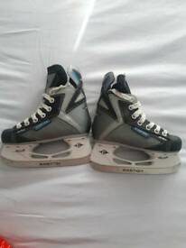 Childrens hockey and figure skates