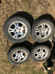 Tires, rims and mags Dodge Grand Caravan, Mazda, Ford 100$