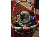 BABY EINSTEIN JUMPEROO BOUNCER ACTIVITY SEAT/TOY