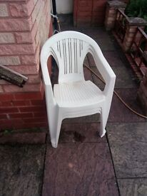 Outdoor Plastic Chairs