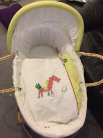 Mamas & Papas Gingerbread Moses Basket