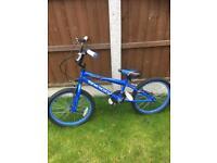 Boys blue bmx Harlem bike