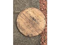 Oak barrel staves