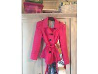 M&S Pink Jacket size 10