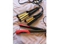 Hair straighteners/curlers/crimpers