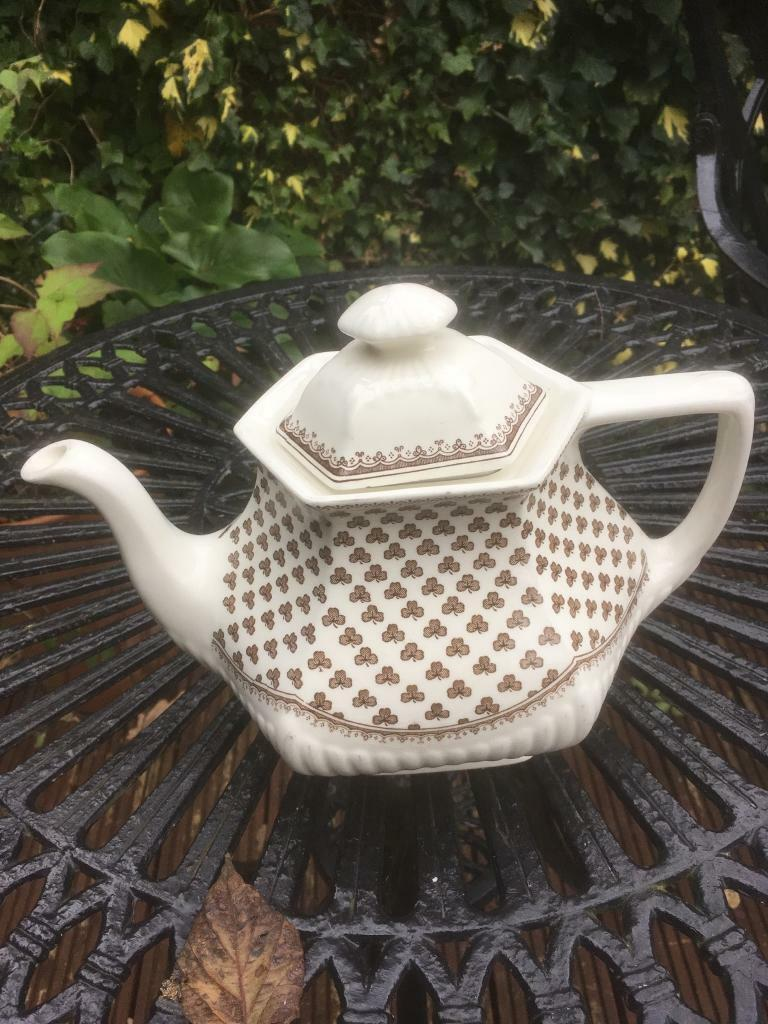 Adams Ironstone 'Sharon' Tea pot in good use condition