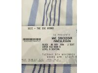 4 Tickets to WWE Smackdown Live at The SSE Hydro