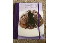 Brand new Recipe book/journal