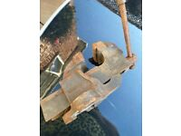 Engineers/carpenter old WODEN vice, used and rusty but still works, CASH COLLECTION ONLY