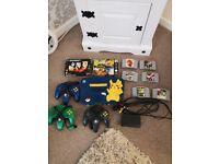 Nintendo 64 picachu edition