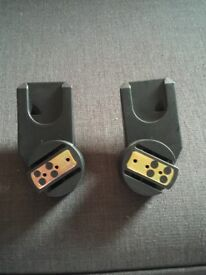 Quinny Zapp maxi Cosi cabrio Fix pebble and pebble plus car seat adapters - used