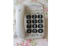 BT Big Button Phone little used