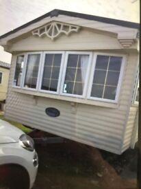 Few dates left caravan to rent at Whitley bay