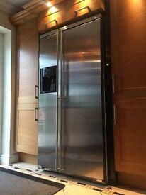 FA561XF Smeg American Side by Side Refrigerator-Freezer Fully Clad