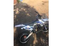 Mini motocross big wheeler