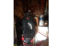 Calloway golf bag plus big Bertha club