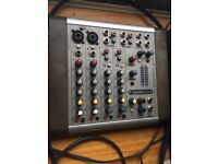 Soundcraft CompAct 4 channel analog line mixer