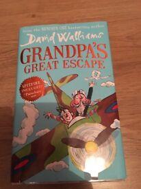 David Williams book- Grandpa's Great Escape