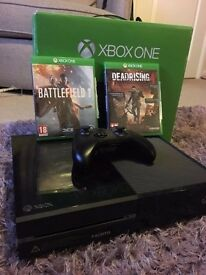 Xbox One 500GB + a variety of games.. £180 ONO