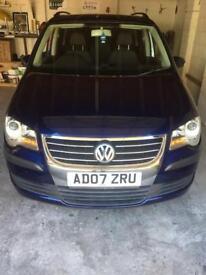 VW TOURAN 1.9 TDI SE 6 SPEED 105 BHP