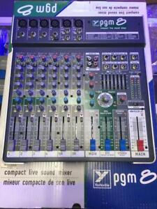 Compact Live Sound Mixer PGM-8 *USED