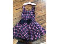 Girls party dress worn twice (as new) age 7/8yrs