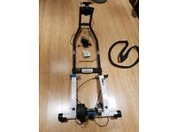Tacx i-Flow T1932 Fortius Turbo Trainer with Steering frame, cadence sensor, Continental Tyre