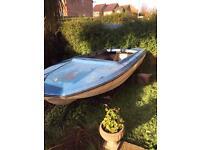 Plaincraft stingray 14ft speedboat