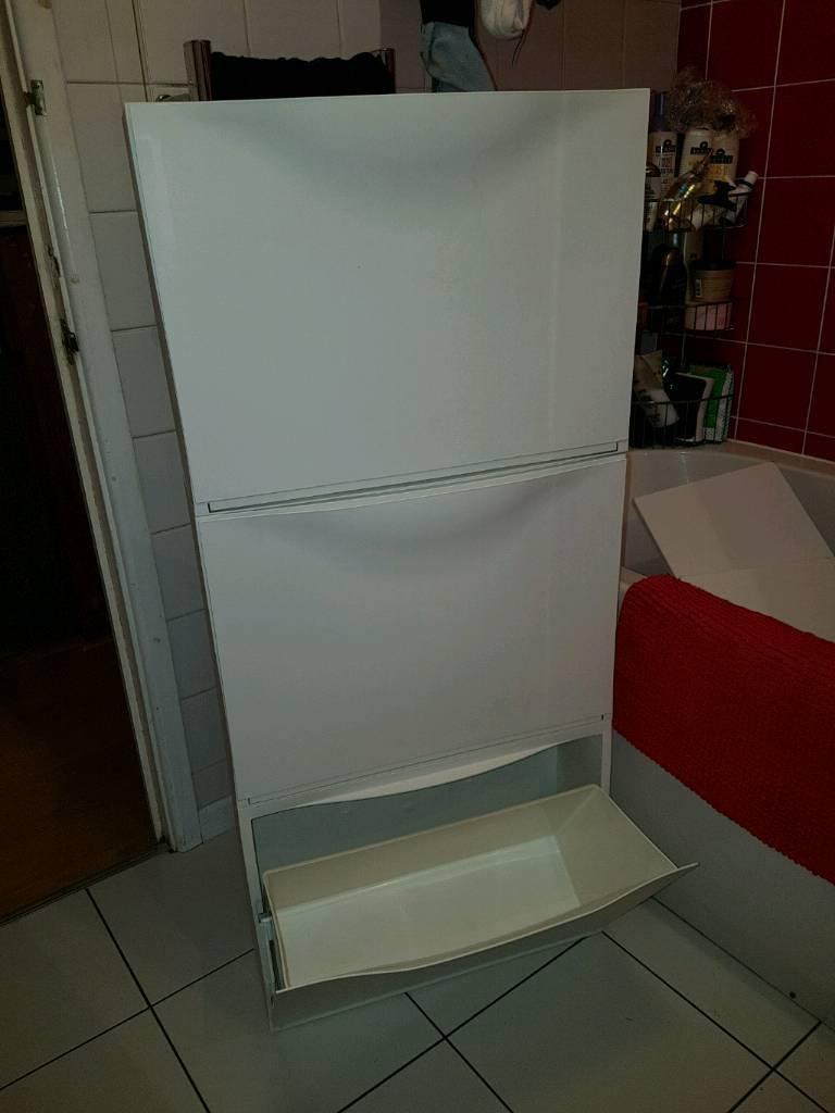 Ikea trones shoe storage units