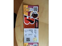 4 x Tickets for Bengals vs Redskins 30.10.16
