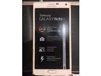 Samsung Note 4 Mobile Phone (White)