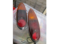 BACK LIGHTS FOR A 1978 TAXI CAB .