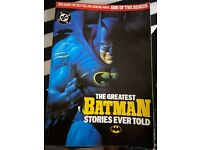 The Greatest Batman Stories Ever Told comic book