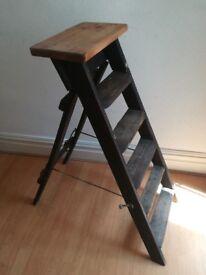 Vintage Wooden Stepladder