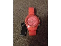 Pink ladies ToyWatch NEW with tag