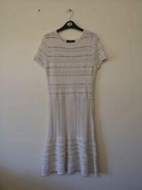 White knitted Zara Dress