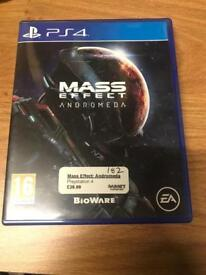 Mass Effect Andromeda PlayStation 4 game 0203 556 6824