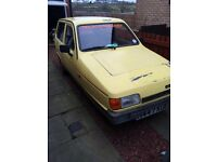 OFFERS FOR THIS FUTURE CLASSIC ROBIN RELIANT THREE WHEELER