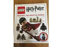 Lego Harry Potter book with figurine