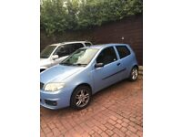 Fiat Punto 04 plate