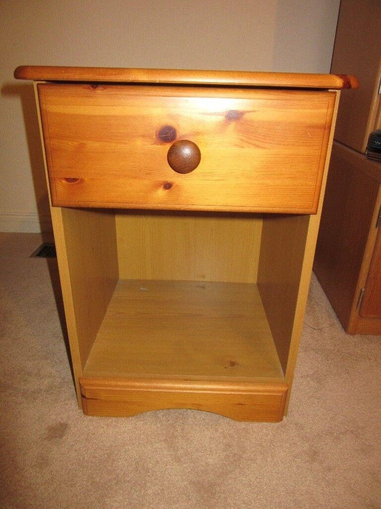 Antique Pine Bedside Cabinet - Antique Pine Bedside Cabinet In Guildford, Surrey Gumtree
