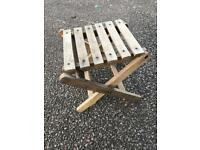Small stand wooden