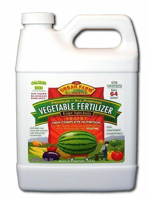 Urban Farm Fertilizers, 1 quart All-Purpose Vegetable -