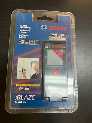 Bosch Glm 30 100ft Laser Measure New A4