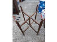 Revertable wood frame vintage