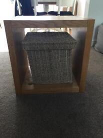 Oak cube