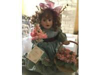 China doll. Pot doll. The Hamilton Collection. Claire by Beverley Parker