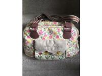 Pink Lining Blooming Gorgeous changing bag - Cottage Garden